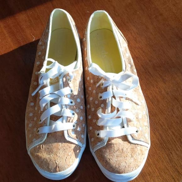 Keds Polka Dot Cork Sneakers